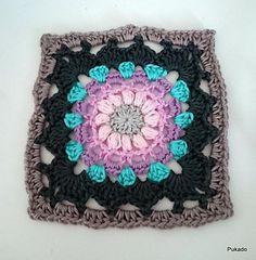 Crochet Mood Blanket 2014 - July Square - by Pukado Crochet pattern by Patricia Stuart | Crochet Patterns | LoveCrochet