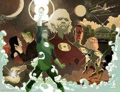 Green Lantern by Frank Stockton