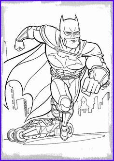 95 Coloring Pages Batman Spiderman