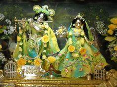 Radha Krishna home altar