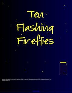 Ten Flashing Fireflies Interactive Math SMART board Lesson - A Great Free Early Number Sense Math Resource - Addition & Subtraction Lesson Kindergarten Math Activities, Free Preschool, Math Resources, Smart Board Activities, Smart Board Lessons, Teaching Numbers, Teaching Math, Teaching Ideas, Math Books