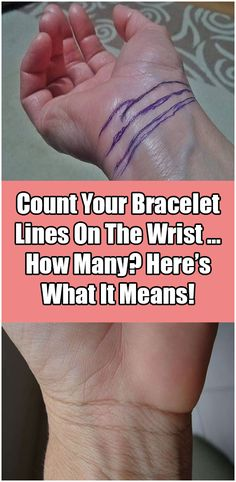 Curved lines that separate the palm of the hand and the rest of the arm are the bracelet line on the wrist is that is also known as Rascette lines. These lines can have different purposes linked to ones' health to their success and fame. Healthy Women, Healthy Tips, How To Stay Healthy, Health And Fitness Articles, Health And Wellness, Health Fitness, Fitness Goals, Fitness Tips, Fitness Motivation