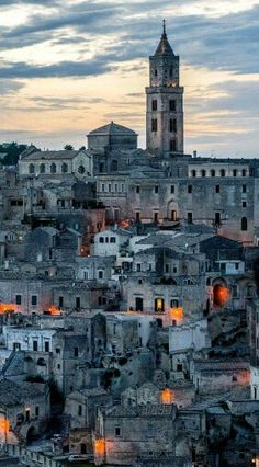 Matera, Basilicata, Italy  www.instagram.com/navid.fatehpour | via : Italy Art & Architecture on FB
