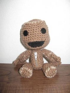 Sackboy * Now with pattern* - CROCHET ((I really need someone to make me one of these.))
