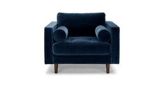 Sven Cascadia Blue Sofa - Sofas - Article | Modern, Mid-Century and Scandinavian Furniture