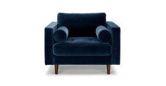 Sven Cascadia Blue Chair