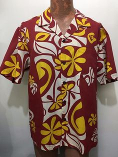 """""""Moana Shirt Co."""" 65% polyester and 35% cotton"""