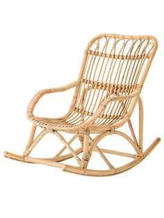 -Bloomingville Rattan Rocking Chair in nature -L87xH72xW52 cm  This is an oversized item. We will contact you after your order confirmation has been received and arrange for extra shipping costs to be paid.UK ap