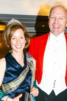 Lady Louise Burrell, probably at the Royal Caledonian Ball, July 20013, wearing a lovley diamond floral tiara.