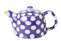 {Yedi Violet Dots Teapot} was $40, now $15! so cute!