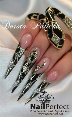 Jewellery nail art by Dorota Palicka - Nail Art Gallery