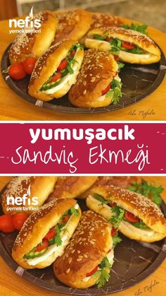Squishy Sandwich Bread - Köstliche Rezepte - Famous Last Words Turkish Recipes, Ethnic Recipes, Sandwiches, Wine Country Gift Baskets, Blueberry Scones, Wie Macht Man, Pain, Salmon Burgers, Hot Dog Buns
