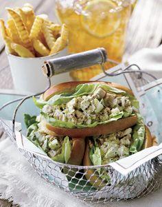 Garden Tuna Salad Sandwich, great for a picnic