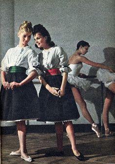 the 60s look-teen fashion