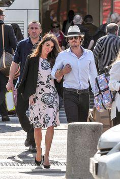 Ian Somerhalder and Nikki Reed in Paris May 2015 | POPSUGAR Celebrity