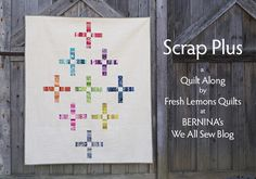 Scraps Plus ~ A Quilt Along at We All Sew