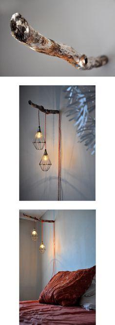 une lampe branche