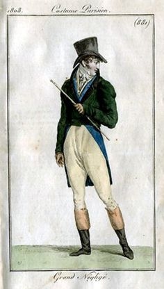 c.1808 costume parisien. 881