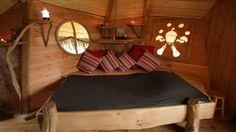 #hotes   Chambre d'hôtes : Qui a dit que les cabanes ne pouvaient être confort ?