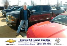 Congratulations to Terry Moody on your #Chevrolet #Silverado 1500 purchase from Terry Moody at Central Chevrolet Cadillac! #NewCar