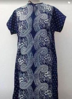 Indigo Tunika made in Germany by Dilians Short Sleeve Dresses, Dresses With Sleeves, Folklore, Designer, Indigo, Germany, Ornaments, Inspiration, Modern