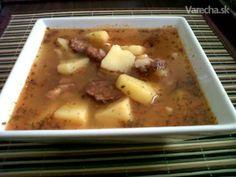 Jednoduchá sedliacka polievka :) - Recept Cheeseburger Chowder, Mashed Potatoes, Soup, Ethnic Recipes, Whipped Potatoes, Smash Potatoes, Soups