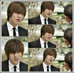 Lee Min Ho in City Hunter.