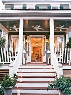 Love this front porch!!