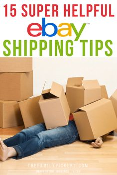 If you need ideas for packaging shipping and what is best to use, check out this post full of eBay shipping tips. Ship your sold eBay items much quicker and easier! If you need tips for shipping your sold ebay items, check out these top 15 super helpful eBay shipping tips!#ebayseller #reseller #ebay #shippingtips #onlineseller Making Money On Ebay, Make Money Online, How To Make Money, Ebay Selling Tips, Selling Online, Ebay Tips, Sell Your Stuff, Things To Sell, Diy Things