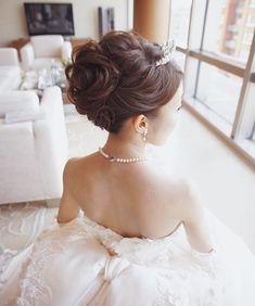 Marie, Wedding Hairstyles, Wedding Dresses, Hair Styles, Instagram, Fashion, People, Hairdos, Hair