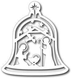 **PRE-ORDER** Tutti Designs - Cutting Die - Nativity Bell,$12.49