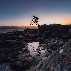 Photo of the Day! @duncshaw trials riding on the Isle of Arran in Scotland! Submit your photos at gopro.com/submit. #GoPro #Trials #MTB by gopro