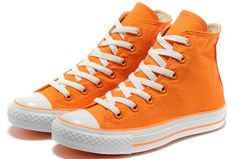 7665e326b2 #converse New colors Converse Cool Fashion Chuck Taylor All Star High Tops  Orange Canvas Sneakers