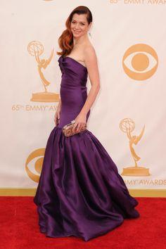 2013 Emmys Red Carpet Fashion | Alyson Hannigan