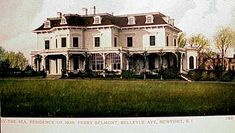 residence of o h p belmont newport ri newport rhode island