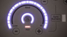 GE Glide Touch Controls