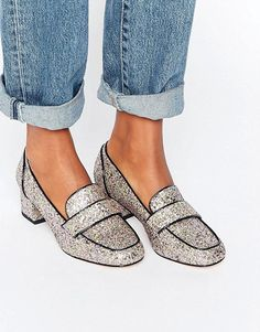 ASOS | ASOS SPRINT Heeled Loafers