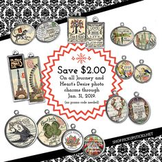 pickupsticksjewelry - Pick Up Sticks is the home of whimsical, distinctive and very collectible photo charms. Photo Charms, Great Gifts, Journey, Coding, Charmed, Personalized Items, Giveaways, Jewelry, Jewellery Making