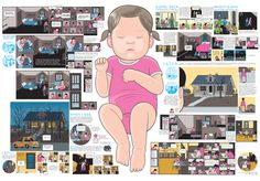 "7 | Chris Ware Brilliantly Bundles ""Building Stories"" As Graphic Novel Boxed Set 