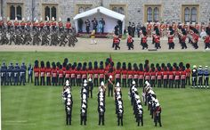 Queen's Diamond Jubilee Parade and Muster at Windsor Castle by Defence Images, via Flickr