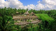 Viceroy Bali - Bali, Indonesia.  Perched high above the Lembah Valley with its forested ravine and rushing river below, the Viceroy Bali offers unparalleled views of terraced paddy fields and lush Balinese jungle, bringing guests a deep sense of serenity and peace