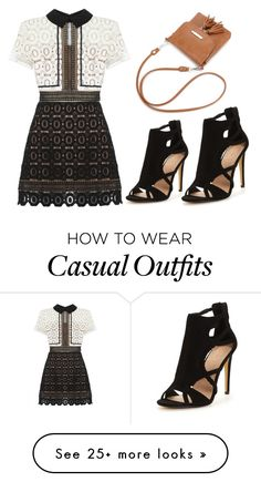 """Casual"" by nuria-f on Polyvore featuring self-portrait"