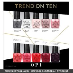 OPI Trend on Ten Nail Polish Collection #adorebeautydreamhaul