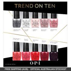 OPI Trend on Ten Nail Polish Collection #adorebeautydreamhaul