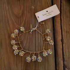 Kate Spade Lady Marmalade Mini Charm Bracelet