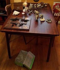 MidCentury Designer Hans Andersen Denmark Rosewood Dining Table #ScandanavianModern #HansAndersen