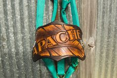 Custom Leather Noseband Horse Halter by TheLeatherHorse on Etsyhttps://www.etsy.com/listing/260539739/custom-leather-noseband-horse-halter?ref=shop_home_active_1 Horse halter, leather halter, Leather gift Horse lovers, horse gift, turquoise, rich brown, the leather horse $80.50