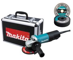 Makita Amp in. Paddle Switch Angle Grinder The Makita in. Angle Grinder has a Amp, RPM motor that is powerful enough for heavy, professional-grinding applications. Bench Grinder, Angle Grinder, Alternative Power Sources, Electronic Speed Control, Power Hand Tools, Metal Tools, Metal Gear, Makati, Computer