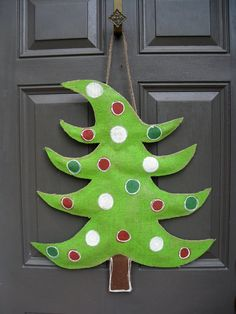 Whimsical Christmas Tree Burlee