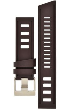 ISOfrane Rubber Dive Watch Strap in BROWN – NEW IN STOCK £92.95. WatchObsession